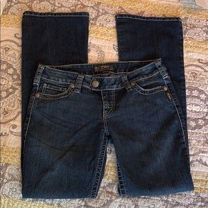 Silver Jeans — women's- Boot, lowrise